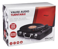 Intempo EE1161 Black Executive Valise Rechargeable Audio Turntable Thumbnail 6