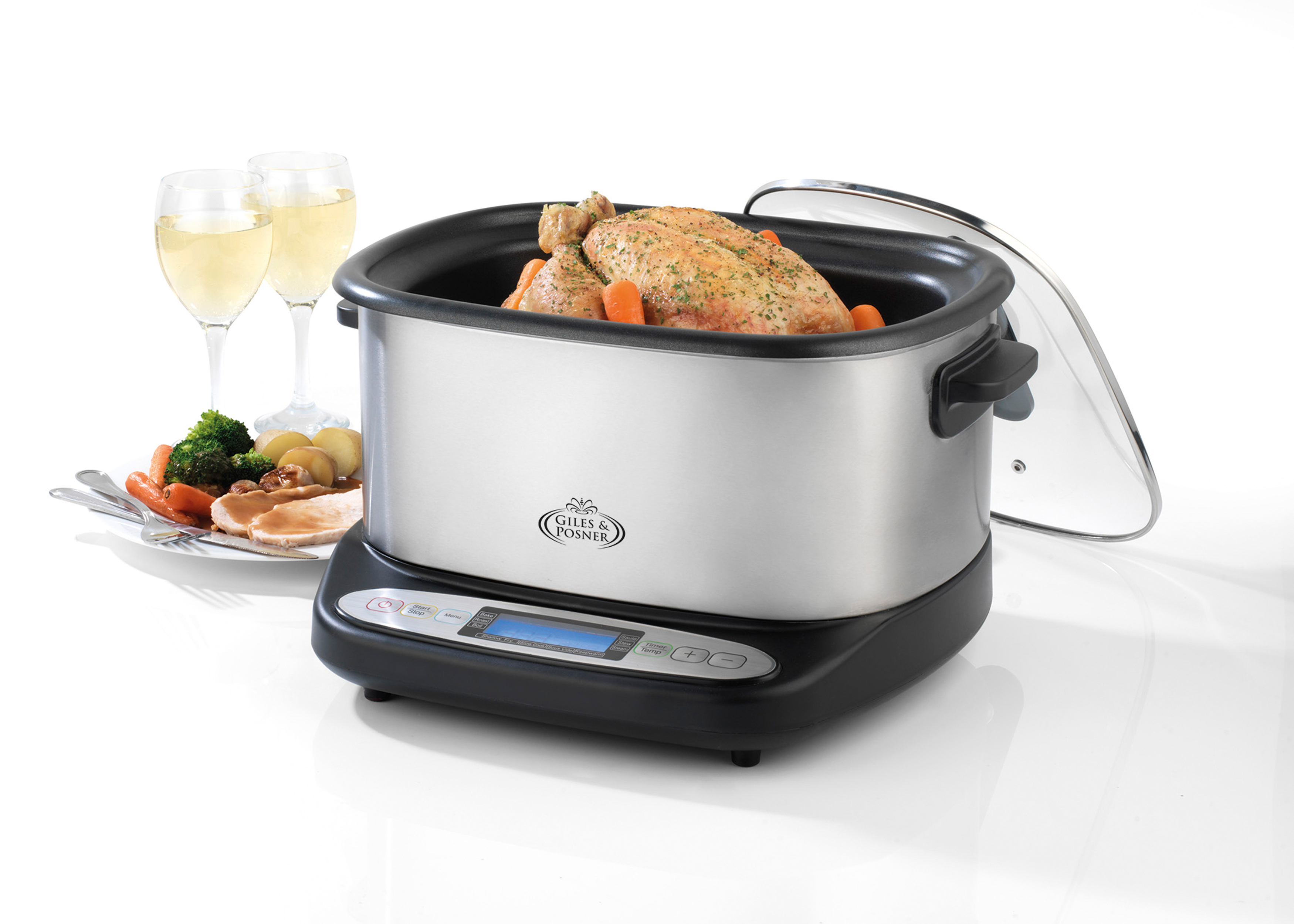 Giles Amp Posner Ek2007 Multi Cooker With Sous Vide Small