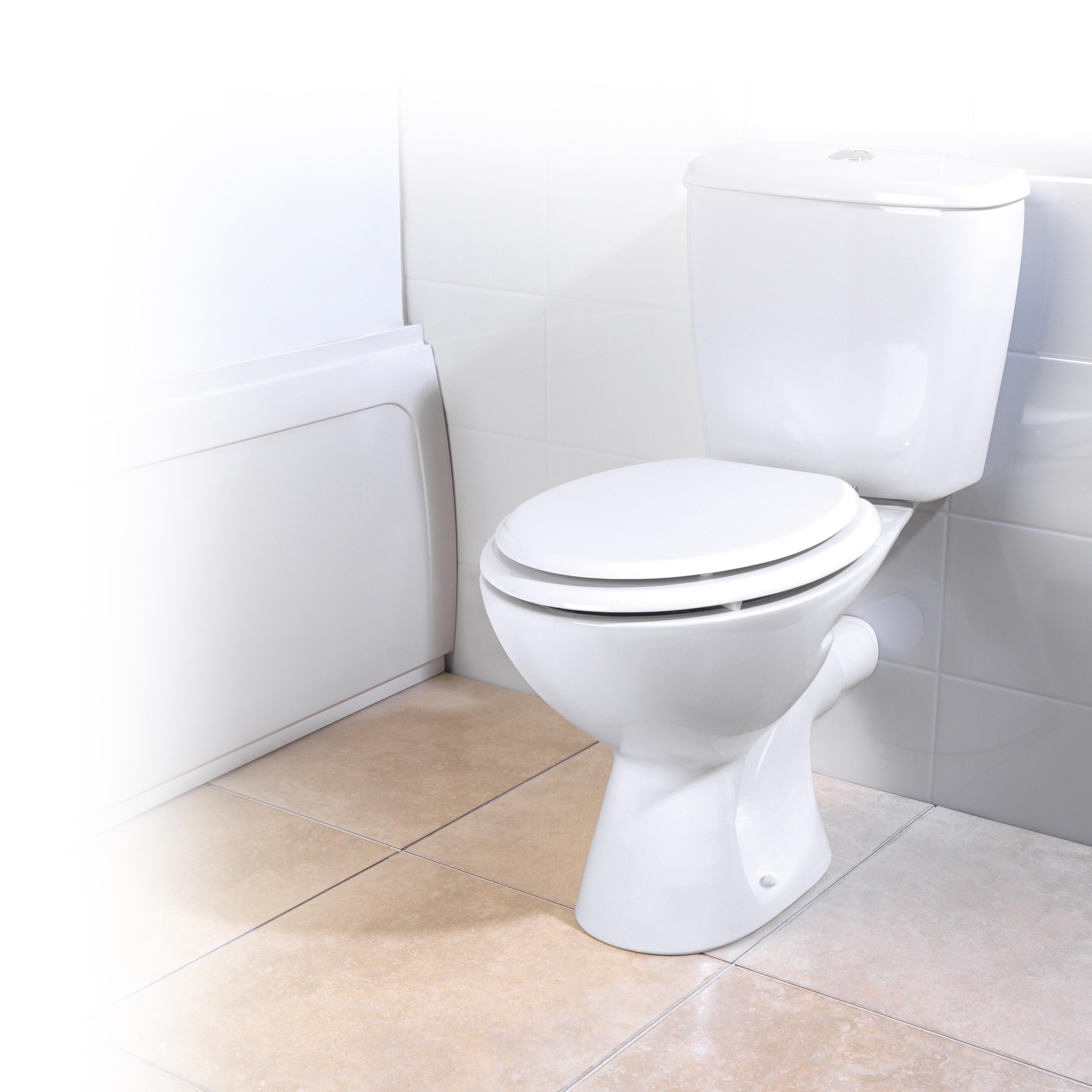 Beldray la032355 18 mdf toilet seat bathroom for Bathroom toilet accessories