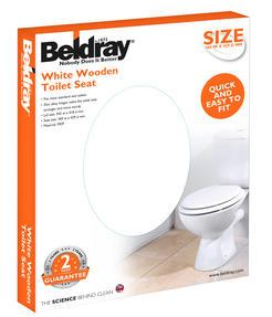 Beldray LA032355 18? MDF Toilet Seat Thumbnail 2