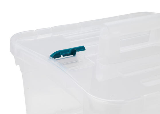 Beldray Small Clear Caddy with Lid Main Image 2
