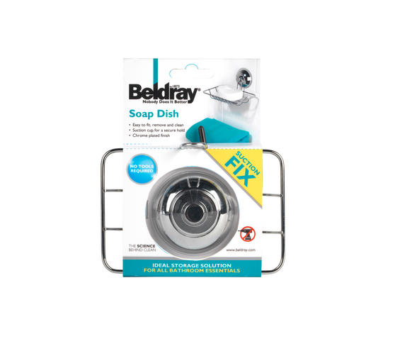Beldray LA036131 Suction Soap Dish