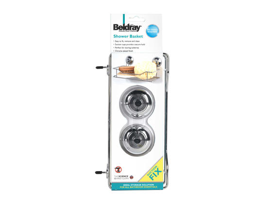 Beldray LA036179 Suction Shower Basket Thumbnail 4