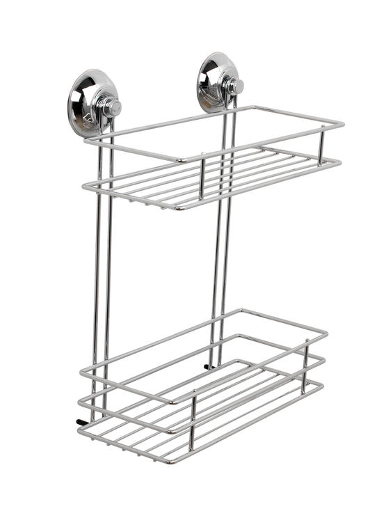 Beldray LA036230 Two Tier Suction Shower Basket