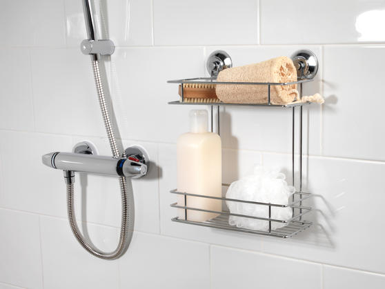 Beldray LA036230 Two Tier Suction Shower Basket Thumbnail 3
