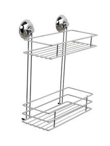 Beldray LA036230 Two Tier Suction Shower Basket Thumbnail 1