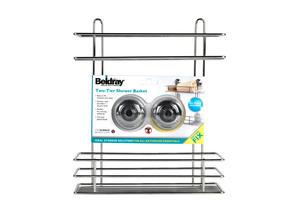 Beldray LA036230 Two Tier Suction Shower Basket Thumbnail 4