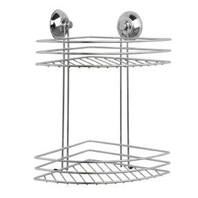 Beldray LA036254 Two Tier Corner Suction Shower Basket