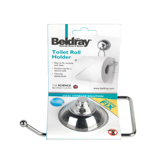 Beldray Suction Toilet Roll Holder Thumbnail 5