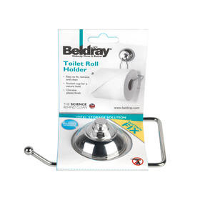 Beldray LA036278 Suction Toilet Roll Holder Thumbnail 5