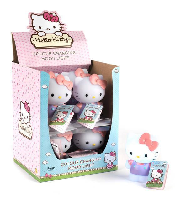 hello kitty phd2463 mood night light lighting no1brands4you. Black Bedroom Furniture Sets. Home Design Ideas
