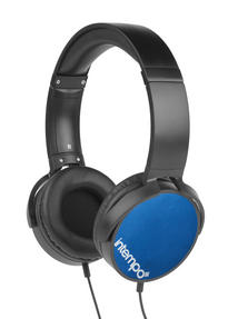 Intempo EE1264BLU Blue Dynamic Over-Ear Headphones
