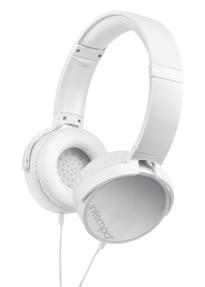 Intempo EE1264WHT White Dynamic Over-Ear Headphones