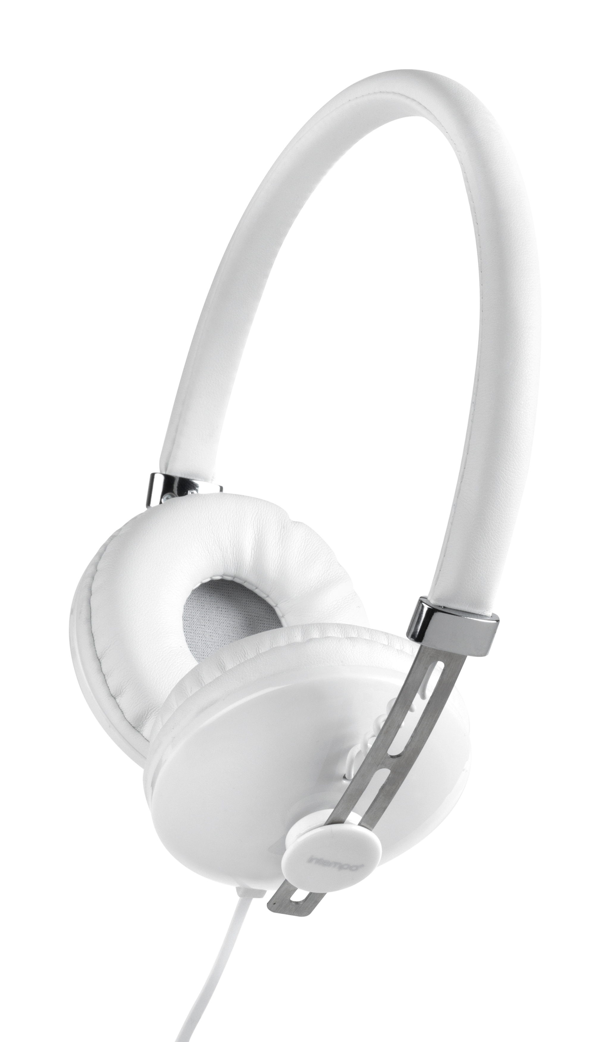 Intempo EE1054WHT Hubbub Over-Ear Headphones for iPhone, iPad, iPod,  Samsung, Smartphones, Tablets & More, 1 2 m Cable, White