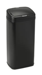Russell Hobbs BW04513 Square Hands Free Motion Sensor Dustbin/Kitchen Bin, 50 Litre, Black Thumbnail 1