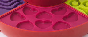 Giles & Posner EK2190 Red Jelly Sweet Gummy Treat Maker Thumbnail 5