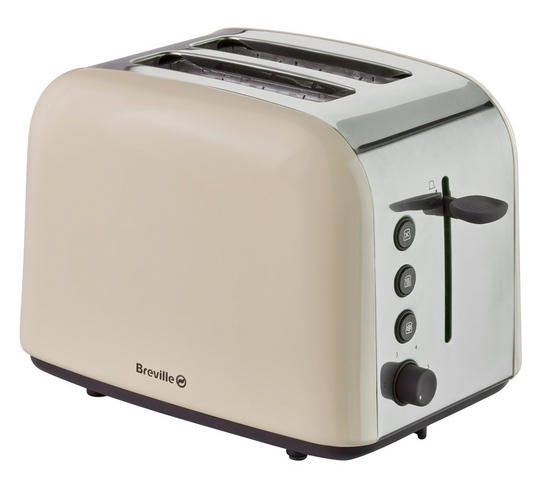 Breville VTT719 Pick & Mix Collection Cream 2 Slice Toaster