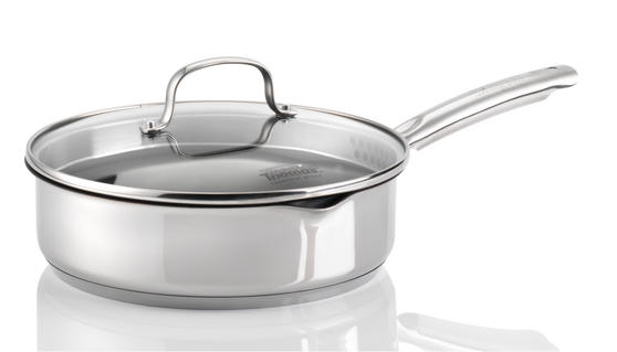 Thomas Rosenthal 1404906 Cook and Pour 24 cm Sauté Pan with Glass Lid