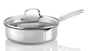Thomas Rosenthal 1404906 Cook and Pour 24 cm Sauté Pan with Glass Lid Thumbnail 1