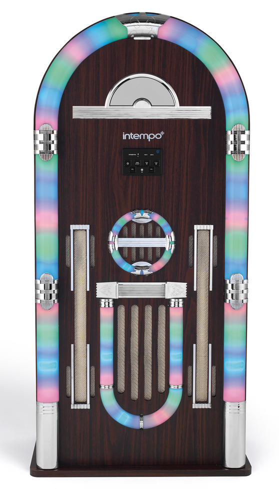Intempo EE1079 Brown Extra Large Bluetooth Jukebox