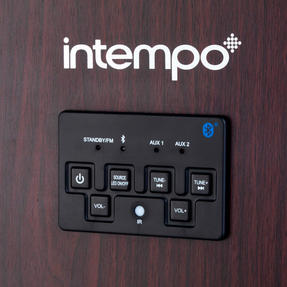 Intempo EE1079 Brown Extra Large Bluetooth Jukebox Thumbnail 2