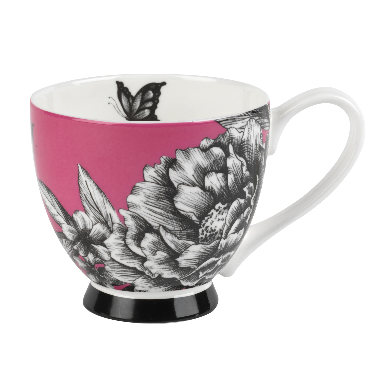 Kitchen Accessories China: Portobello CM02311 Sandringham Zen Garden Pink Bone China
