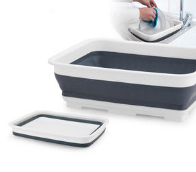 Beldray LA030191 Grey Collapsible Rectangular Bowl Thumbnail 2