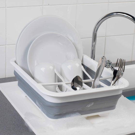 Beldray Grey Collapsible Dish Draining Board Thumbnail 3
