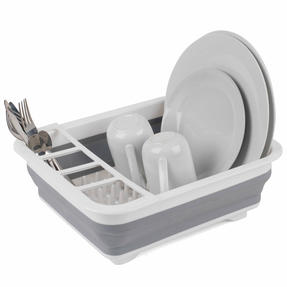 Beldray LA031051 Grey Collapsible Dish Draining Board Thumbnail 1