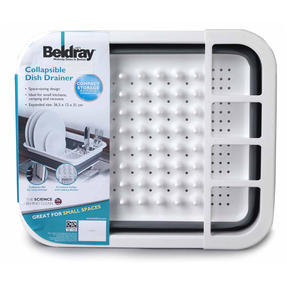 Beldray LA031051 Grey Collapsible Dish Draining Board Thumbnail 11