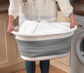 Beldray LA034816 Oval Collapsible Laundry Basket Thumbnail 4