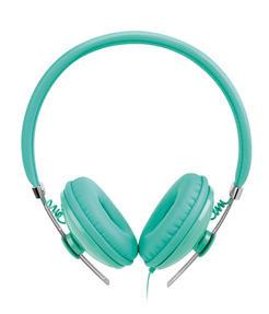 Intempo EE1054 Hubbub Aqua Green Over-ear Headphones Thumbnail 2