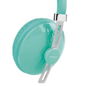 Intempo EE1054 Hubbub Aqua Green Over-ear Headphones Thumbnail 3