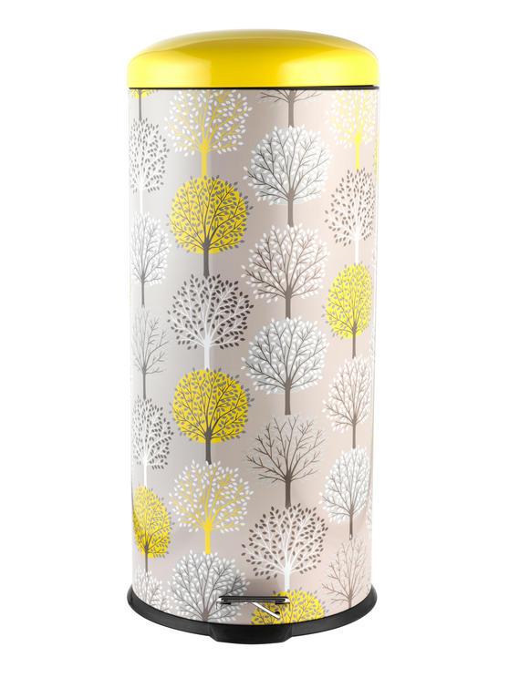 Salter BW05078 Natural Trees 30 Litre Soft Closing Lid Pedal Bin