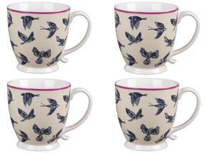 Cambridge CM03619 Kensington Avairy Fine China Mug Set of 4 Thumbnail 1