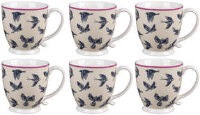 Cambridge CM03619 Kensington Avairy Fine China Mug Set of 6 Thumbnail 1
