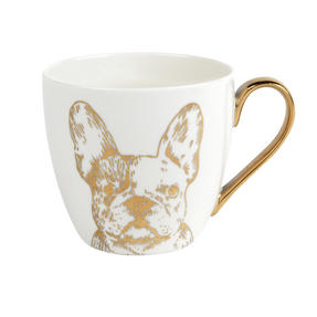 Cambridge CM05045 Kendal Gold Bulldog Fine China Mug Set of 4 Thumbnail 1