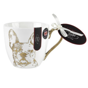 Cambridge CM05045 Kendal Gold Bulldog Fine China Mug Set of 6 Thumbnail 2