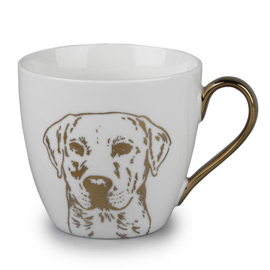 Cambridge CM05047 Kendal Gold Labrador Fine China Mug