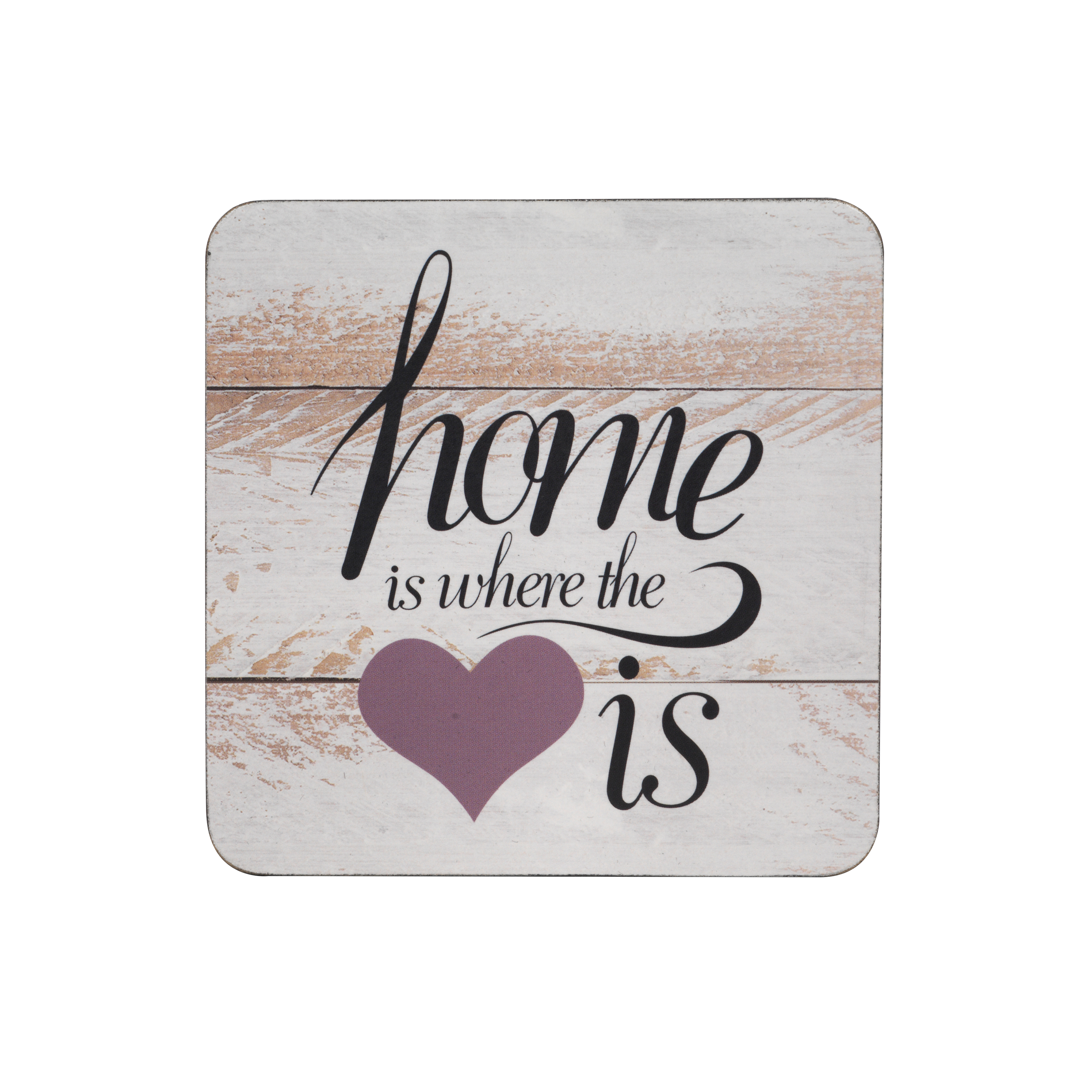 inspire tw290410 luxury home is where the heart is coasters 10 5 x