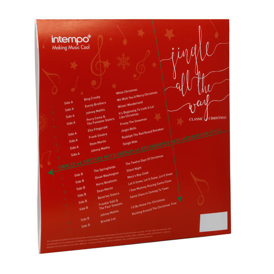 Intempo Jingle All The Way Classic Christmas Collection Lp