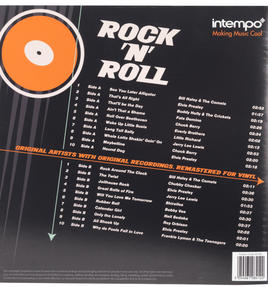 "Intempo EE1500 Rock & Roll Best of the 50s Collection LP Vinyl Record, Remastered, 12"", Feat Buddy Holly, Roy Orbison & More Thumbnail 2"