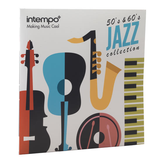 Intempo Jazz Collection 50s and 60s LP Vinyl Record