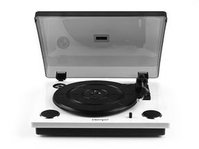 Intempo White Stylus Mark 2 Turntable