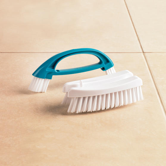 Beldray Turquoise 2 in 1 Cleaning Brush Thumbnail 2