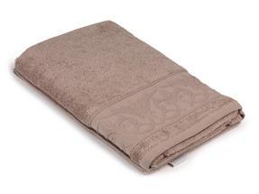 Frette P500723 Light Brown Cotton Bath Towel 70 x 140 cm