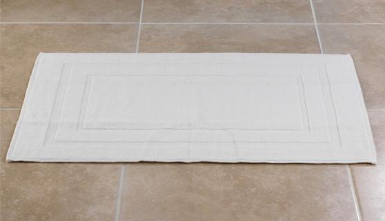 Frette P500724 100% Cotton White Bath MaT