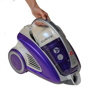 Hoover CU81_CU11001 Curve Bagless Cylinder Vacuum Cleaner - Purple and White [Energy Class A] Thumbnail 2