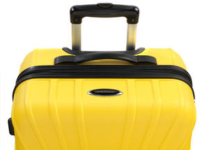 "Constellation LG00418 28"" Yellow Arc ABS Suitcase Thumbnail 2"