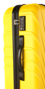 "Constellation LG00418 28"" Yellow Arc ABS Suitcase Thumbnail 3"